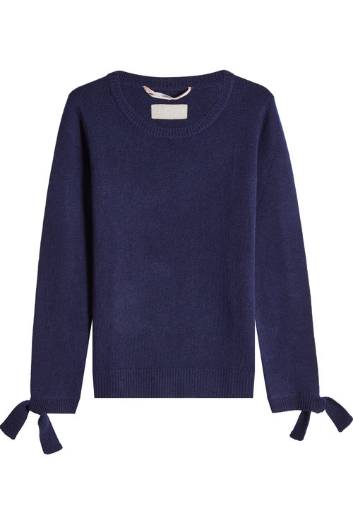81 Hours Pullover With Superfine Wool And Cashmere In Blue