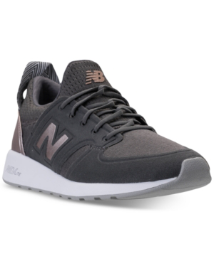 New Balance Women's 420 Sweatshirt Casual Sneakers From Finish Line In Magnet/champagne