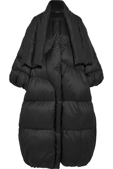 Maison Margiela Oversized Quilted Shell Down Coat