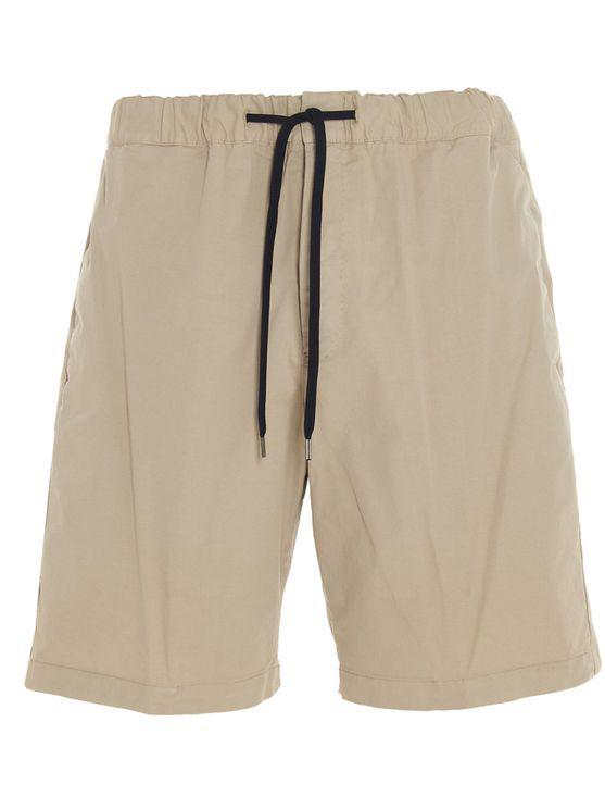 Pt01 Men's Cbbtw7z20cl1nu350040 Beige Other Materials Shorts In Brown
