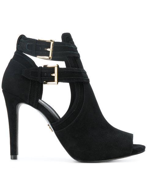 Michael Michael Kors Boot Style Pumps In 001black