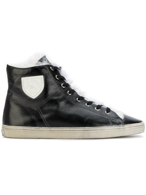Saint Laurent Rivington Sneakers In Black