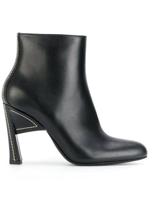 Marni Pointed Toe Structural Boots