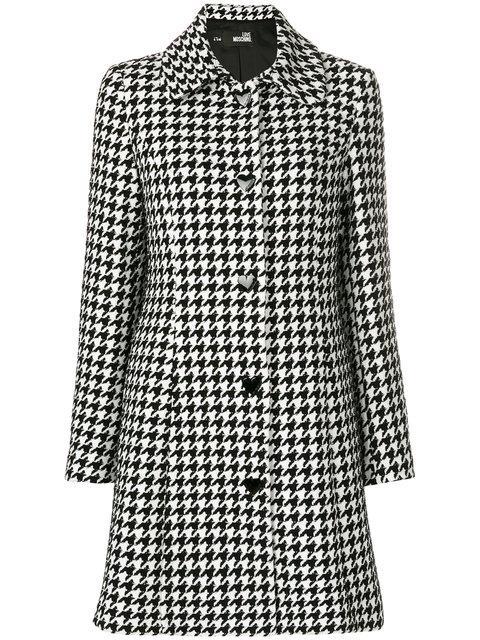 Love Moschino Coat Coat Women Moschino Love In Black