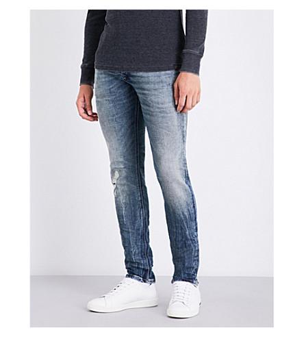 Diesel Sleenker Slim-fit Skinny Jeans In Light Wash Blue