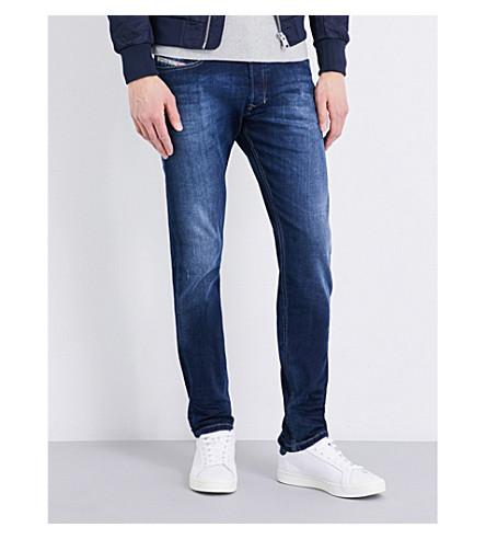 Diesel Tepphar Slim-fit Skinny Jeans In Denim Blue