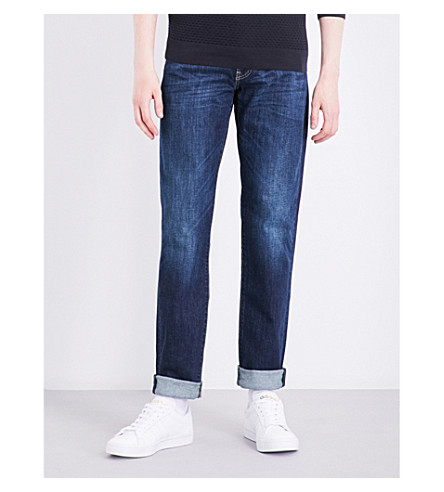 Levi's 511 Slim-fit Tapered Jeans In Rain Shower