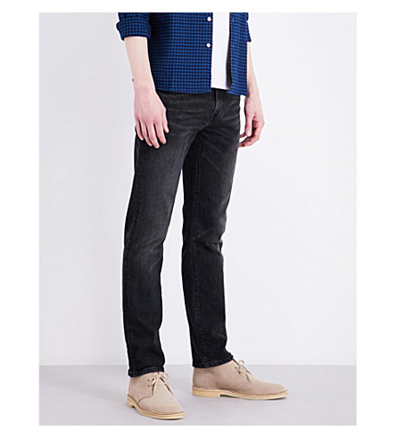 Levi's 511 Slim-fit Tapered Stretch-denim Jeans In Bushwick Collective