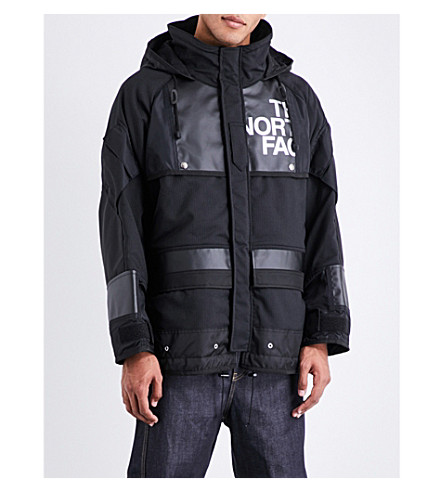 details voor tijdloos design groothandelsprijs Comme Des Garcons The North Face Jacket in Black White Black