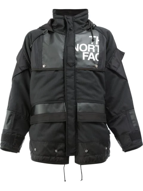 Junya Watanabe Comme Des Garcons The North Face Jacket In Black & White