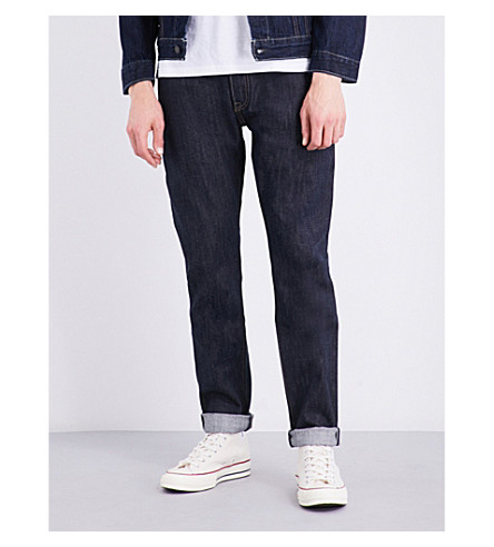 Levi's 501 Slim-fit Skinny Jeans In Long Day Rigid