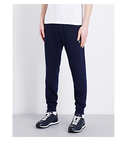 Polo Ralph Lauren Fleece-lined Cotton-blend Track Pants In French Navy