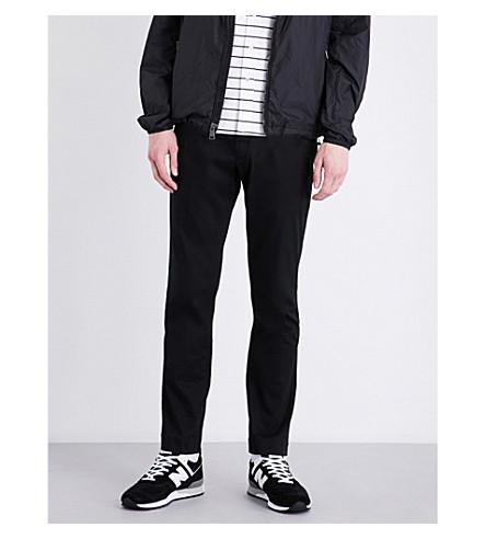 Polo Ralph Lauren Slim-fit Stretch-cotton Pants In Polo Black