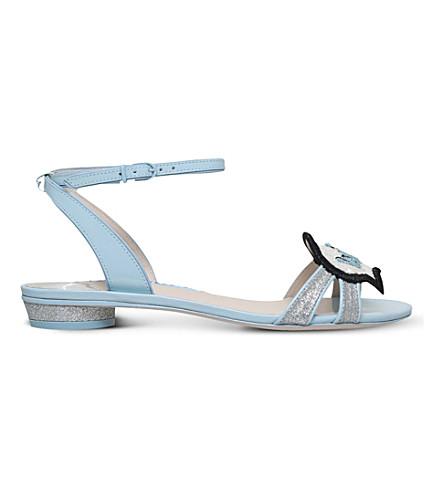 Sophia Webster Wifey For Lifey Ellen Bridal Sandal In Pale Blue