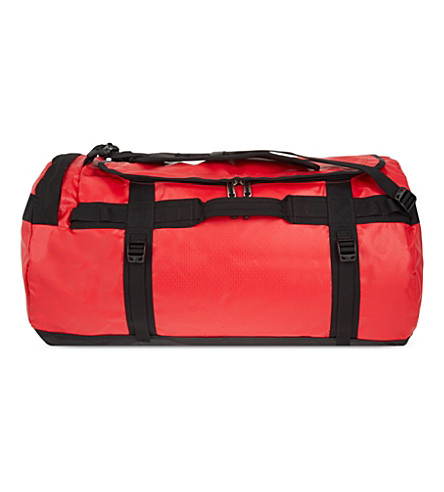 The North Face Base Camp Large Duffle Bag In Red