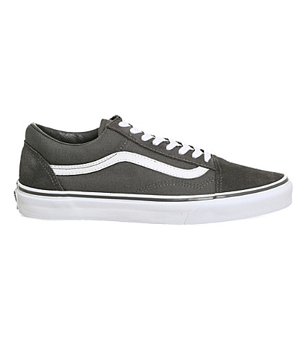 Vans Old Skool Canvas And Suede Trainers In Tornado White