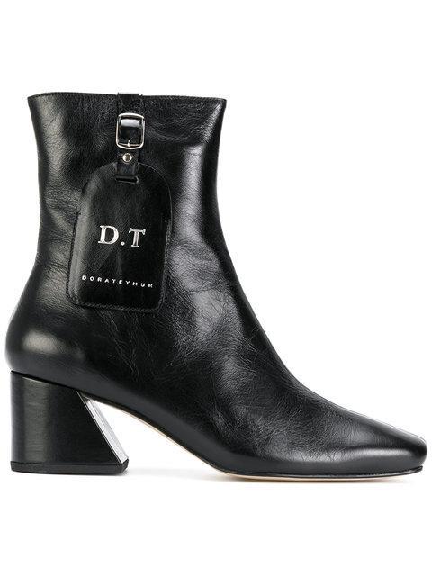 Dorateymur Logo Tag Angle Boots