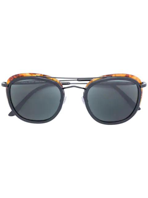 Giorgio Armani Classic Square Sunglasses
