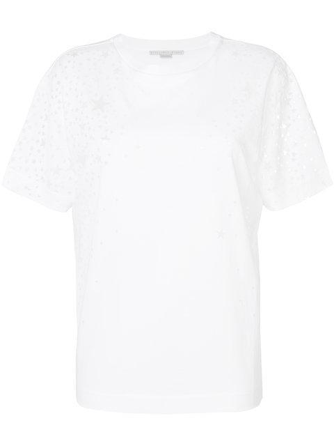 Stella Mccartney Star T-shirt From  In White