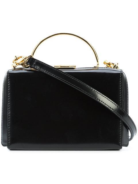 Mark Cross Mini Grace Bag In Black