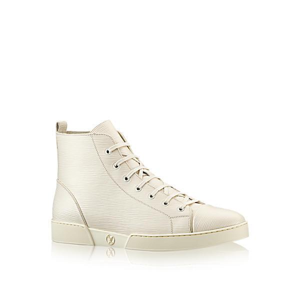 1a4544661161 Louis Vuitton Match-Up Sneaker Boot In Ecru