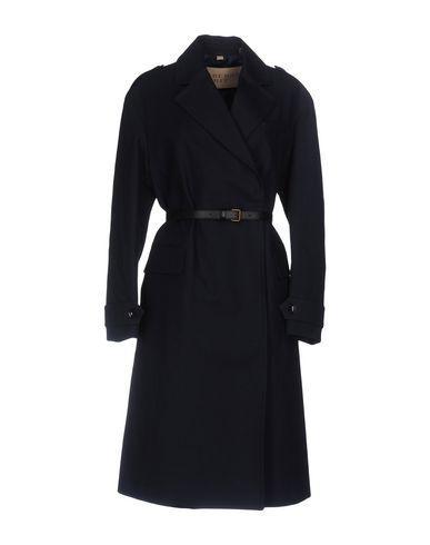 Burberry Belted Coats In Dark Blue