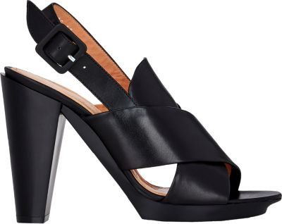Robert Clergerie Xali Slingback Sandals In Black