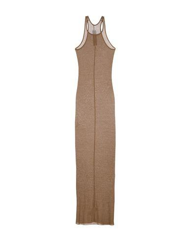 Rick Owens Long Dresses In Khaki