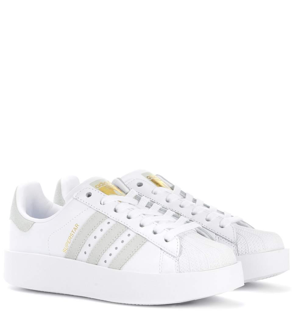 Adidas Originals Superstar mit dicker Sohle