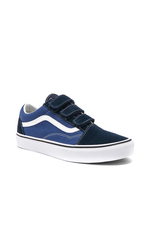 Vans Old Skool V In Blue