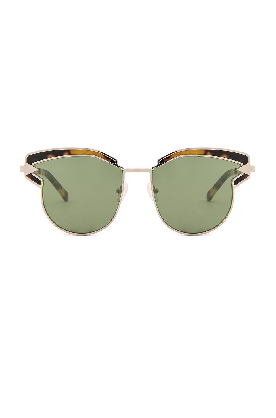 Karen Walker Felipe In Gold & Crazy Tortoise