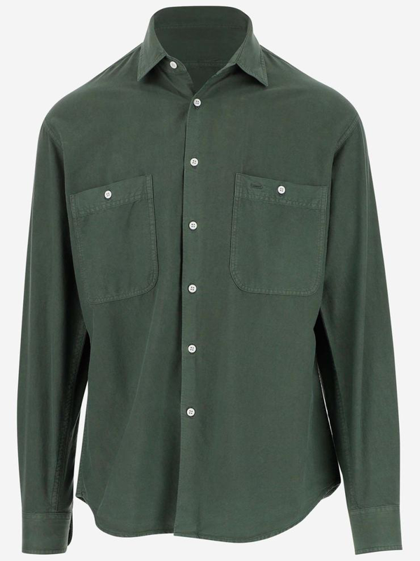 Aspesi Shirts In Verde