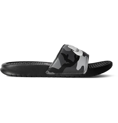 390e0be84788 Nike Benassi Jdi Camouflage-Print Rubber Slides