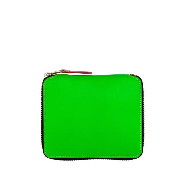 Comme Des Garçons Wallet Sa2100 Super Fluo Green