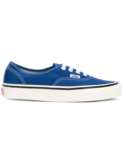 Vans Authentic Low Top Sneakers In Blue