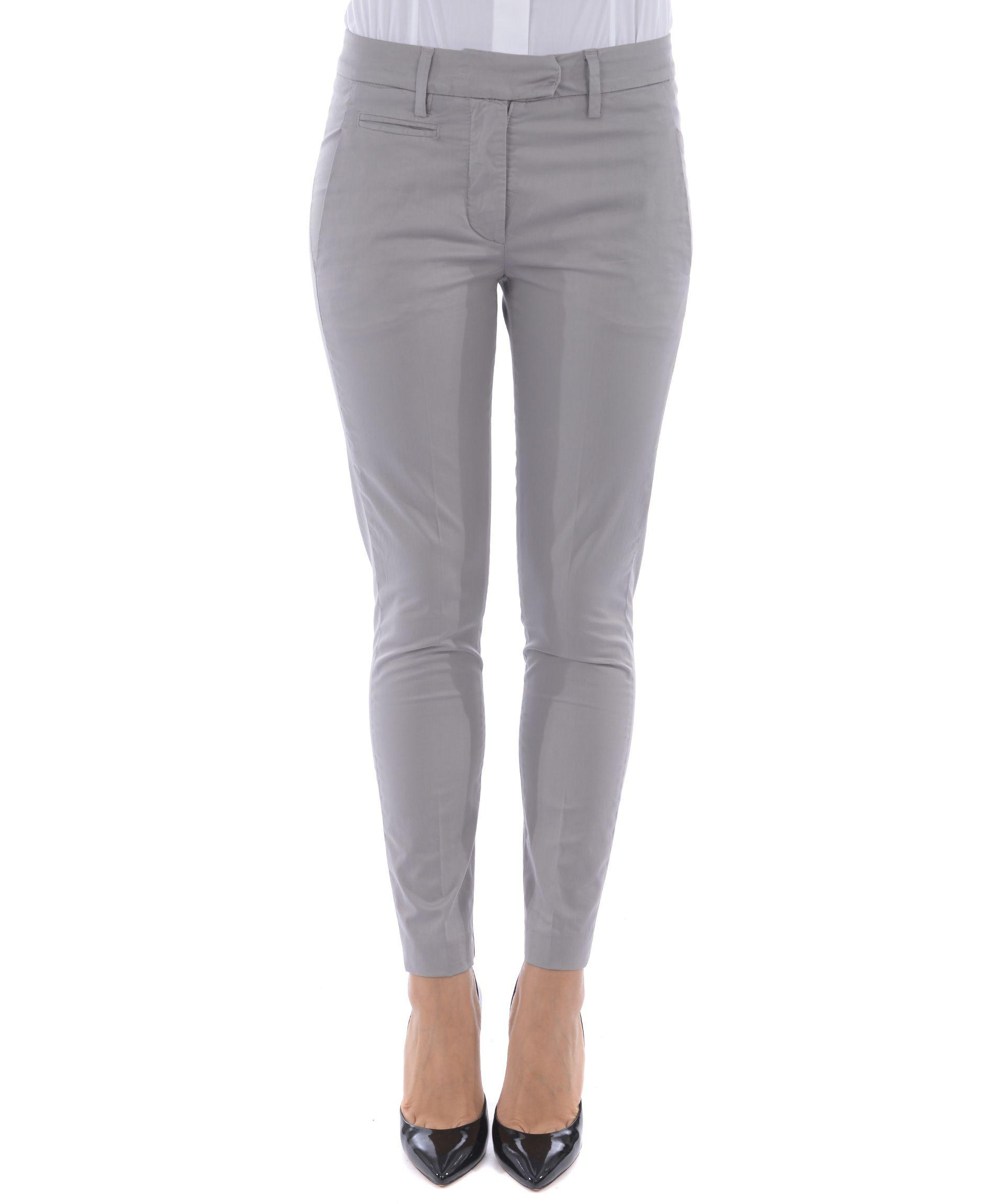 Dondup Perfect Trousers In Grigio