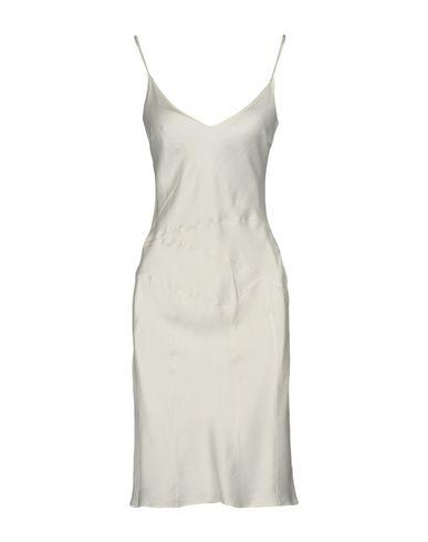 John Galliano Short Dress In White