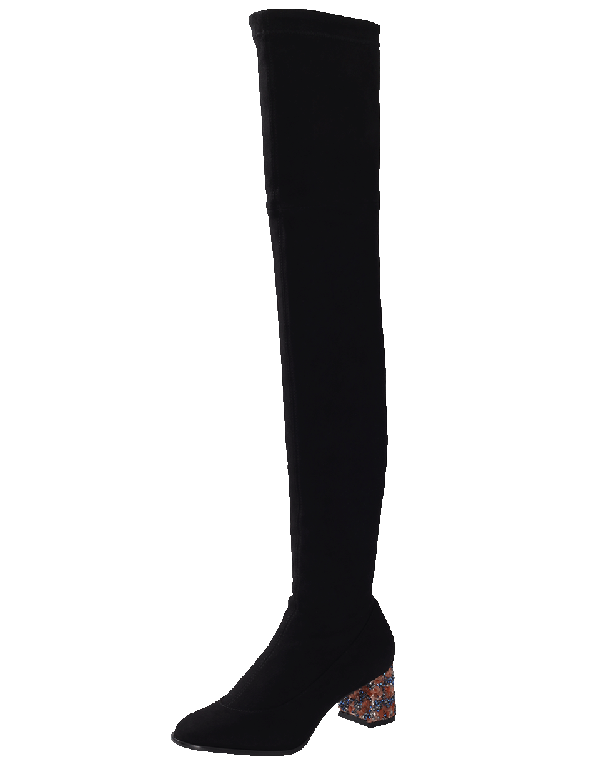 Sophia Webster Suranne Over-The-Knee Boots In Multi