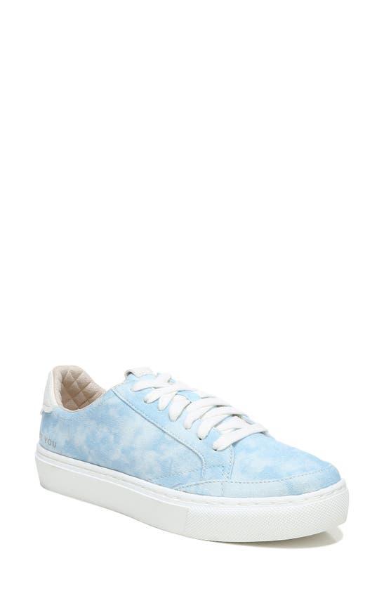 Dr. Scholl's All In Platform Sneaker In Dream Blue