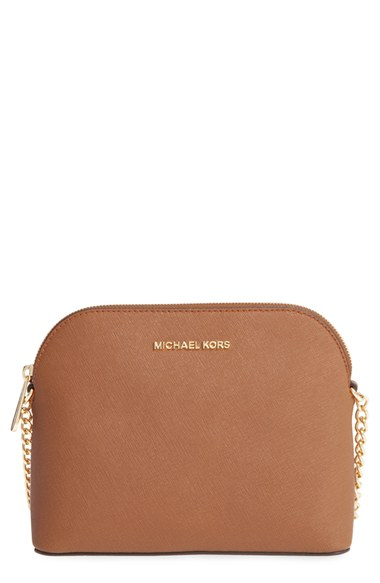 792f95af6afb Michael Michael Kors 'Large Cindy' Dome Crossbody Bag In Acorn/ Gold ...