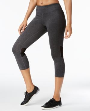 Calvin Klein Performance Cropped Leggings In Sweats Heather