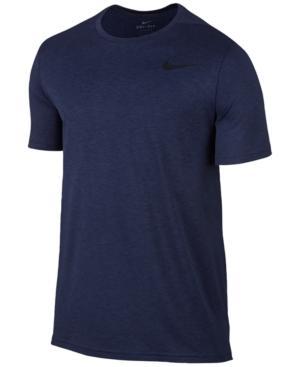 Nike Men's Breathe Hyper Dry Training Top In Binary Blue/Black