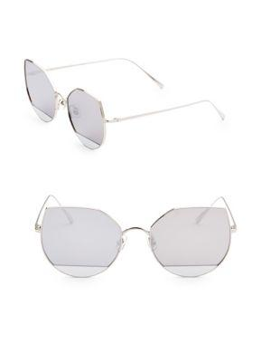 ee3cd9a4840 Gentle Monster Tinted 58Mm Cat Eye Sunglasses In Silver