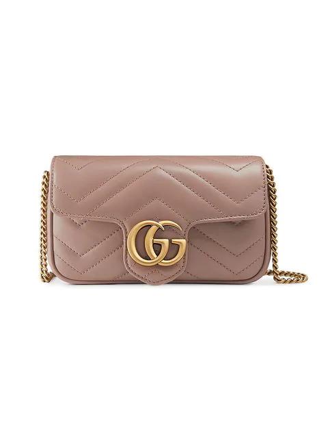 511bffd2069 Gucci Gg Marmont MatelassÉ Super Mini Bag In 5729 Rosa