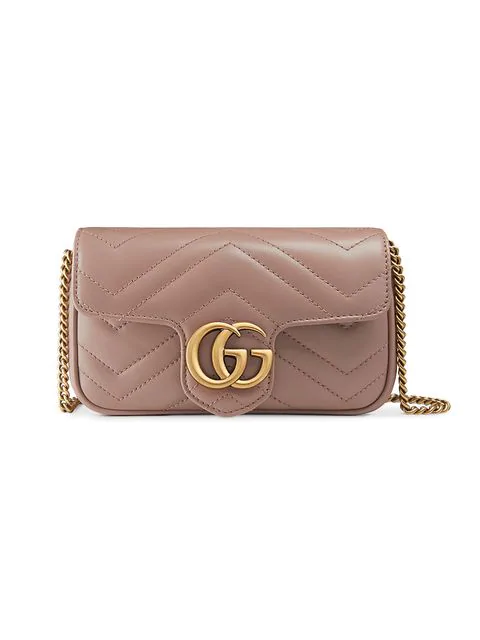a140c33d9de9 Gucci Gg Marmont MatelassÉ Super Mini Bag In Neutrals | ModeSens