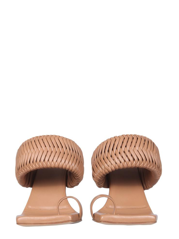 Gia X Rhw Rosie One Sandals In Brown