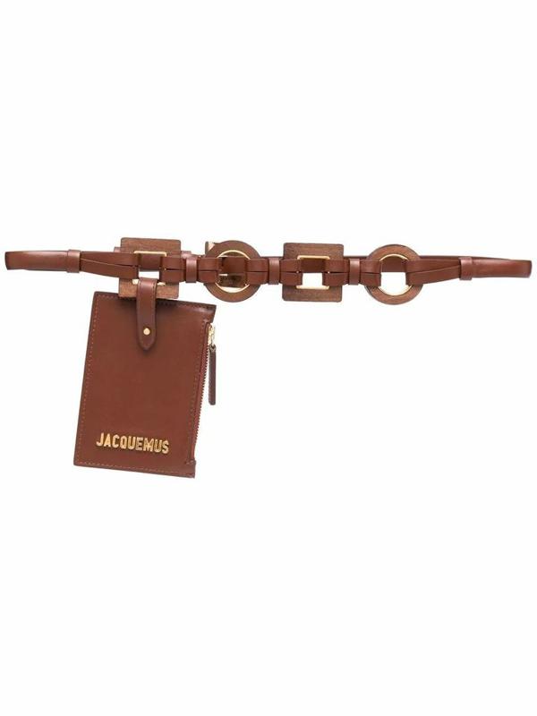 Jacquemus Women's Brown Leather Belt