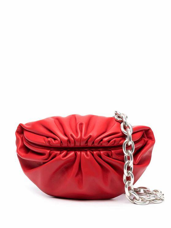 Bottega Veneta Women's 651445vcp418823 Red Leather Belt Bag