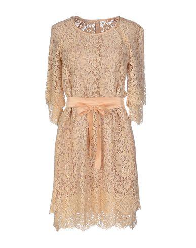 Michael Kors Short Dress In Beige