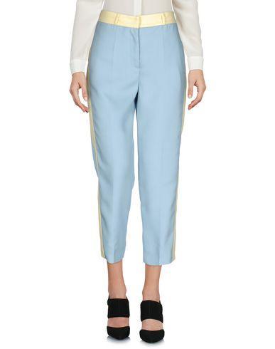 Prada Cropped Pants & Culottes In Sky Blue
